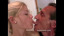 Older man fucks his sons girlfriend