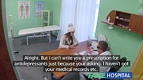 Fake Hospital Doctor denies antidepressants and prescribes a good licking and a
