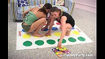 Busty lesbians dildoing themselves