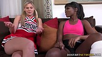 Ana Foxxx And Scarlet Red Having An Interracial Lickfest's Thumb