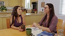 Tutoring turns into lesbian sex - Dana DeArmond...