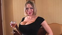 Busty Blonde Lawyer Helps You Celebrate Your Di...