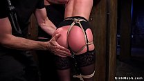 Tied up sub fucked in various positions's Thumb