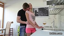 Flawless Slim Nympho Gets Her Slim Cunt And Tiny Anal Pounded