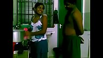 See maid banged by boss in the kitchen thumb