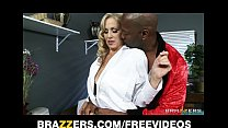 Busty blonde doctor Julia Ann is seduced by her...