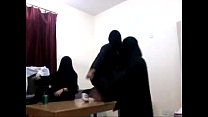 HARLEM SHAKE ABAYA (BLACK LADIES)