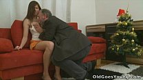 11826 Old Goes Young - Your girlfriend left alone with an old guy preview
