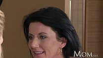 MOM mature olivia brings home a young hottie fr...