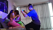 Download video bokep Backstage Photoshoot Porno with two Sexy Girls ... 3gp terbaru
