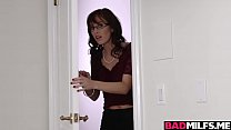Awesome sex lessons with hot milf Alana and Nina