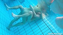 Underwater nude couples sex cam hidden spy preview image