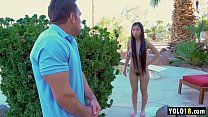 Amazing Asian Stepsister Fed up With Stepbro je...