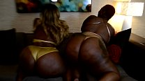 2 BIG ASS BOOTYS FEATURING @IAMPHARAOH BODY