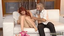 Old chick young cock Unexpected practice with an older gentleman