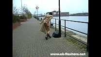 Naked Exhibitionist In Public thumbnail