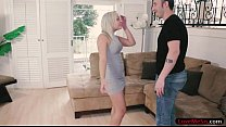Sexy blonde teen stepsis Cleo Vixen gets her pussy banged - download porn videos