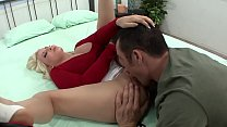 Madison enjoys while a stranger fingers him with his tongue