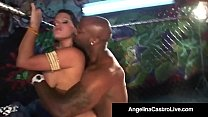 BBW Angelina Castro Sucks Nat Turnher's BBC In ... thumb