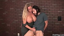 clubtug-Busty milf handjob treatment thumb