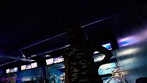 Public Remote Vibrator In Bowling Together With Friends - Letty Black صورة