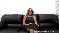 Blonde Ass Fuck and Creampie Casting Preview