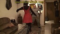 Ebony Goddess ballbusting trample and CBT http://clips4sale.com/store/424