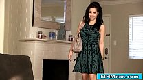 Kimmy Lee gets home early to fuck her bf