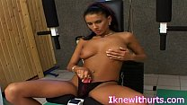 Real Hot Exotic Solo Sports Babe porn image