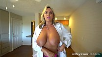 Busty Sex Dr Finger Banged Before Her Cum Facial's Thumb