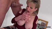 Unfaithful british milf gill ellis shows off he... Thumbnail