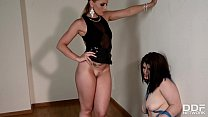 Face Sitting & Nipple Pinching Orgy With Domina Kathia Nobili & Lucia Love
