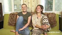 Amateur Lesbians Tamara and Sophia Get it on thumb