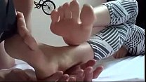 asian feet licking