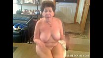 Granny dildoing her pussy and ass on cam pornhub video