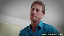 Extra thin stepdaughter gets dicked by her stepfather - 9Club.Top