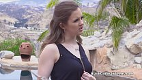 Sexy teen realtor rides buyers BBC Preview