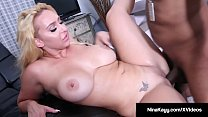 Curvy Nympho Nina Kayy Rides Big Black Cock With Boober App!