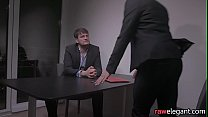 MILF babe assfucked during interrogation