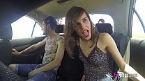 Ainara the hot car washing teen fucks her trave...