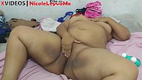Porn video of fat Mexican Masturbating