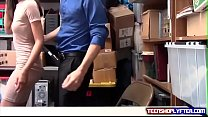 Petite Asian Shoplyfter Stripped Naked And Searched Deep preview image