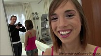 Pretty teen Tina Hot gets her tight pussy hammered by Rocco