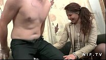 Amateur french couple first time anal casting c... thumb