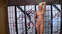 Vanessa Cage Dances, Strips and Gives Handjob