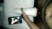 Indian Guy Fucking The Fleshlight For The FirstTime