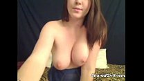 Super hot girl shows her monster curves