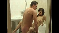 Dad and daughter fuck in the toilet thumbnail