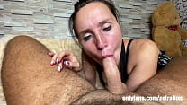 WHILE HUSBAND IS  I'M SUCKING A DICK FOR A LOVER