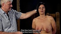 Hard nipple caning for big titted woman ⁃ Xxx Bhama thumbnail